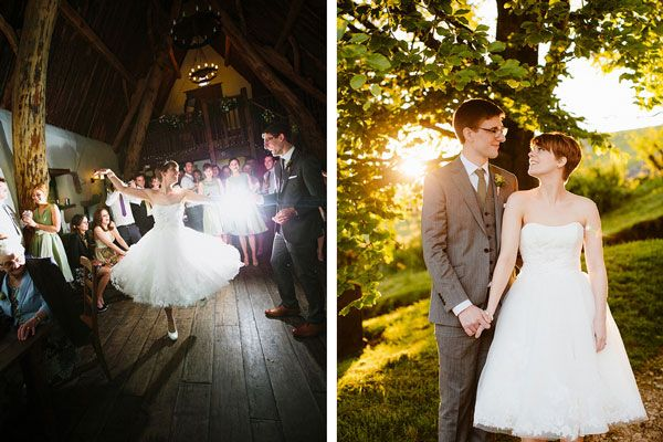 7ddab376cd Krótkie suknie ślubne są nie tylko piękne